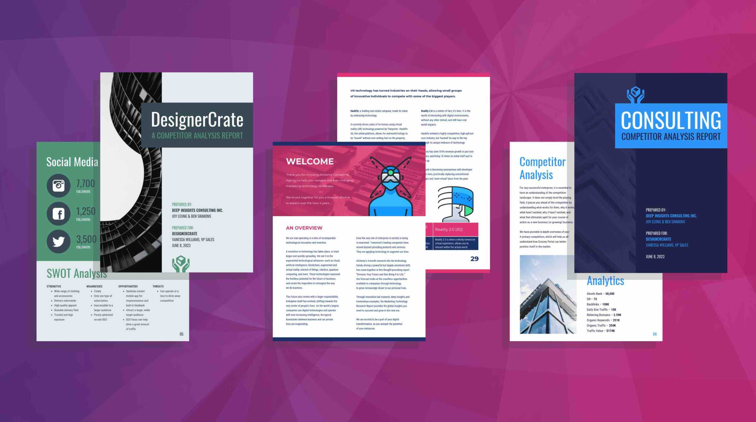 19 Consulting Report Templates That Every Consultant Needs Regarding Consultant Report Template