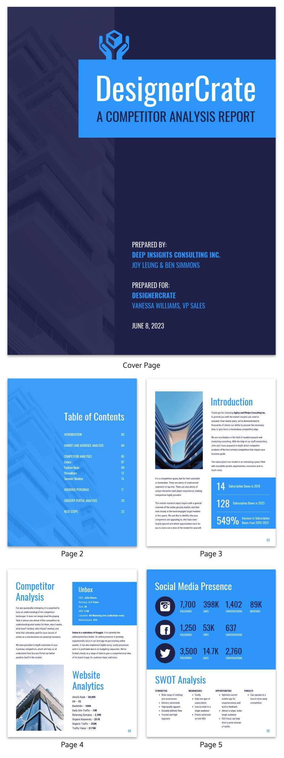 19 Consulting Report Templates That Every Consultant Needs Within Consultant Report Template
