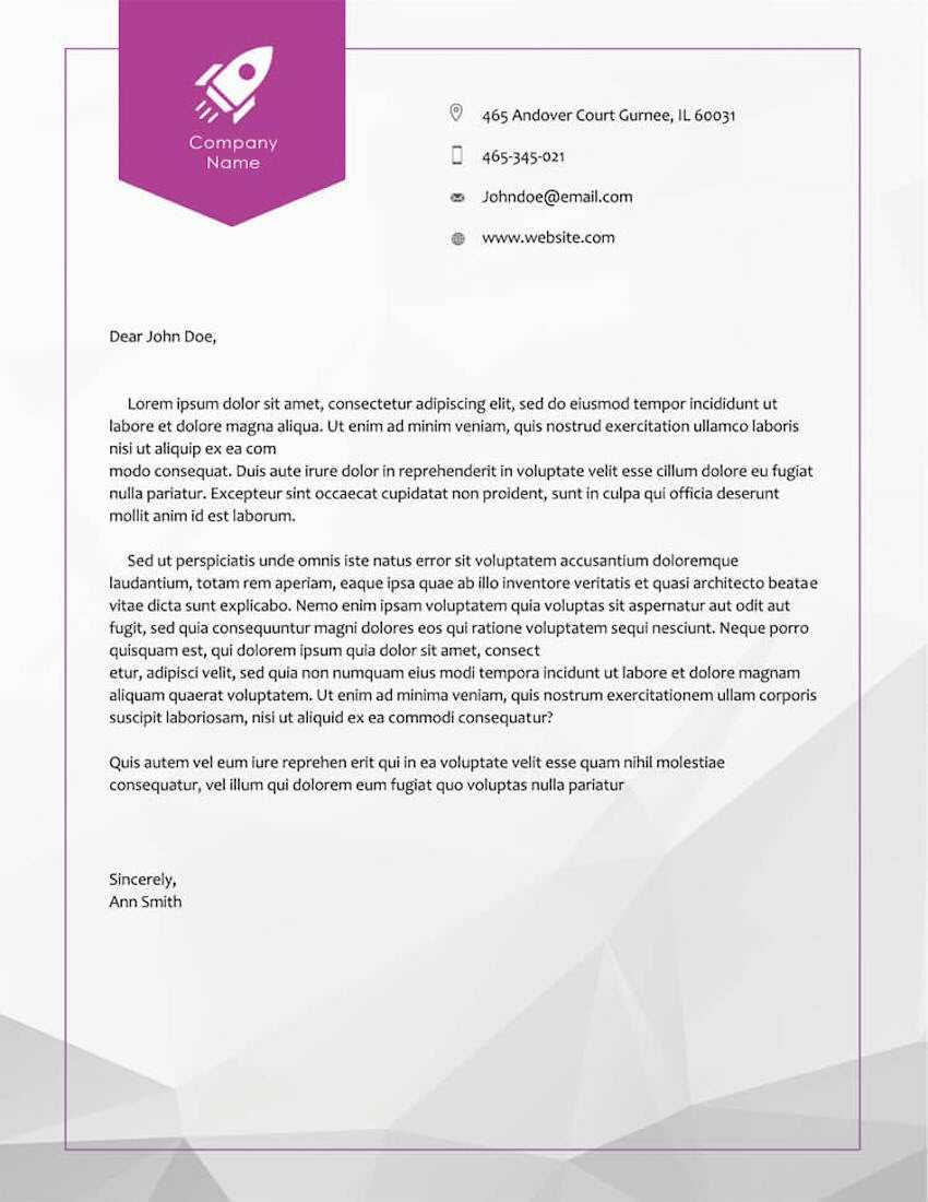 20 Best Free Microsoft Word Corporate Letterhead Templates Pertaining To Free Letterhead Templates For Microsoft Word