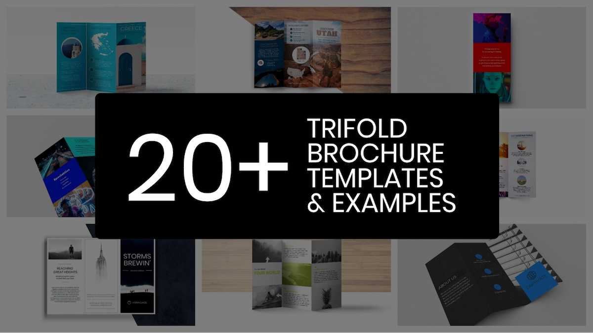 20+ Professional Trifold Brochure Templates, Tips & Examples Throughout Double Sided Tri Fold Brochure Template