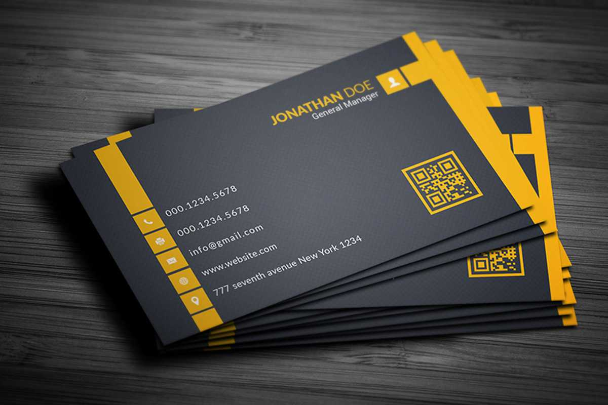 200 Free Business Cards Psd Templates – Creativetacos Regarding Free Bussiness Card Template