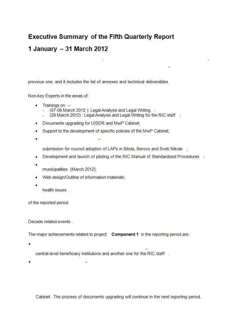 22+ Executive Summary Samples - Pdf, Doc   Examples In Executive Summary Report Template