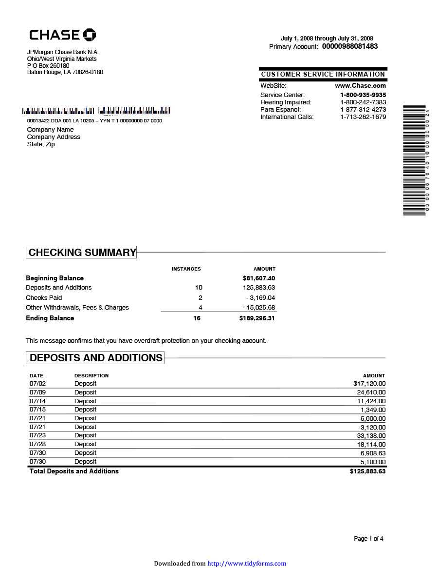 23 Editable Bank Statement Templates [Free] ᐅ Template Lab With Credit Card Statement Template Excel