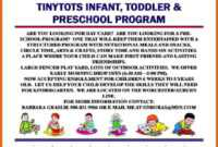 25 Beautiful Free Paid Templates For Daycare Flyers for Daycare Flyers Templates Free
