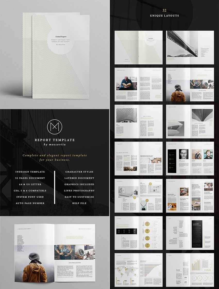 25+ Best Annual Report Templates - With Creative Indesign Regarding Free Annual Report Template Indesign
