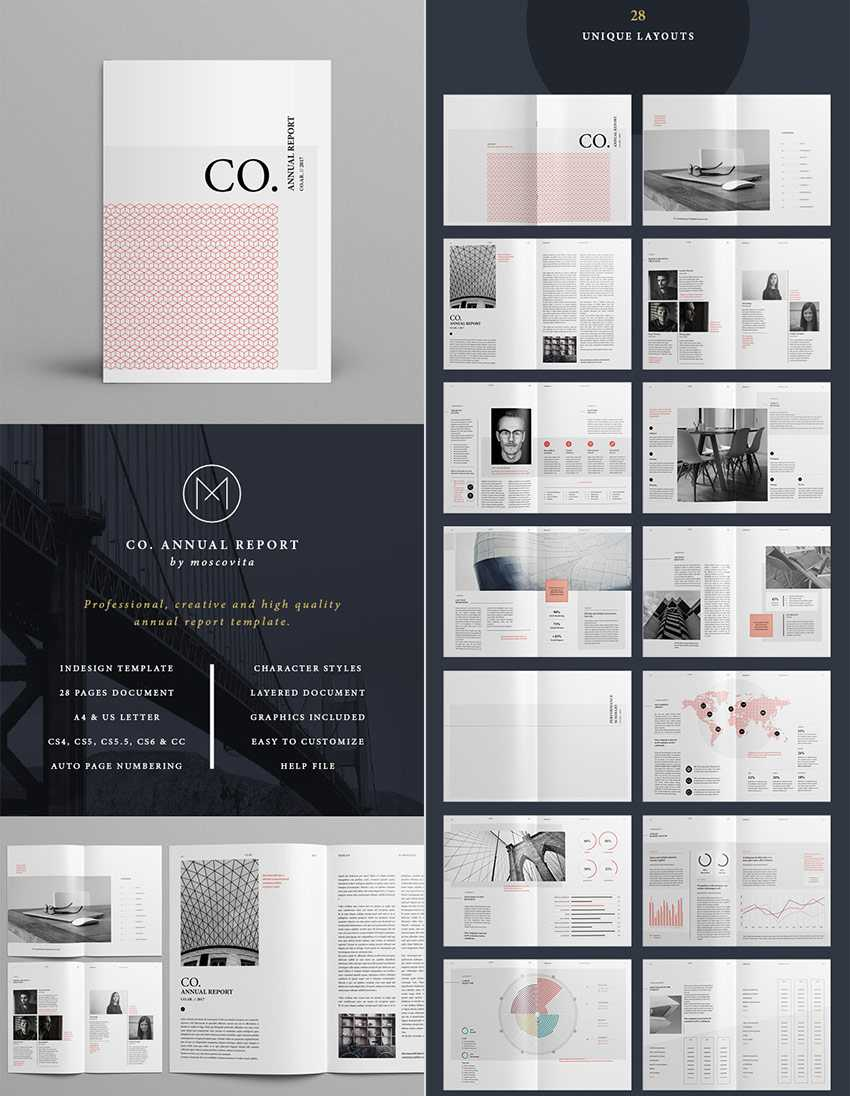 25+ Best Annual Report Templates - With Creative Indesign Throughout Free Indesign Report Templates