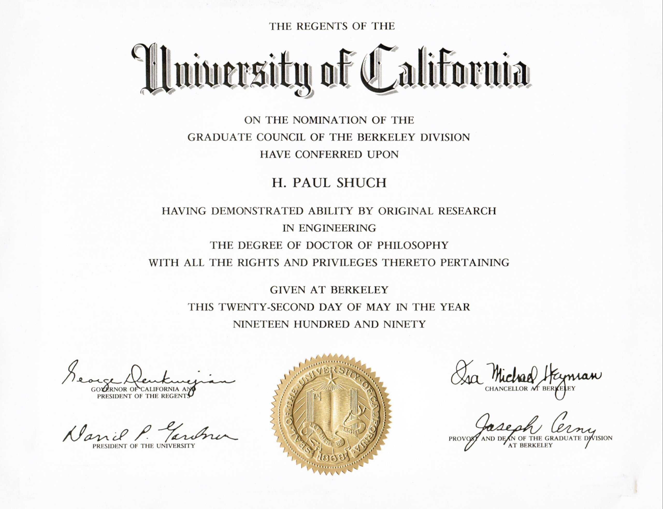 28+ [ Doctorate Degree Certificate Template ] | Doctorate Pertaining To Doctorate Certificate Template