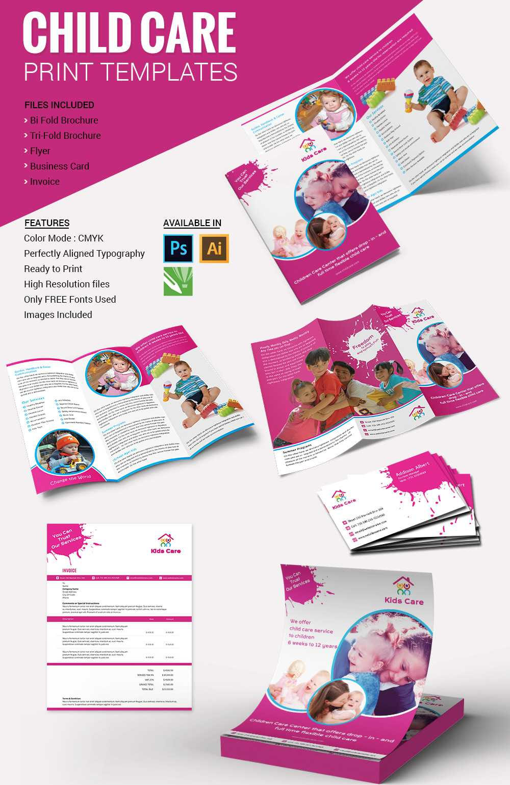 29 Images Of Day Care Flyer Template Free Printable   Gieday Intended For Daycare Flyers Templates Free