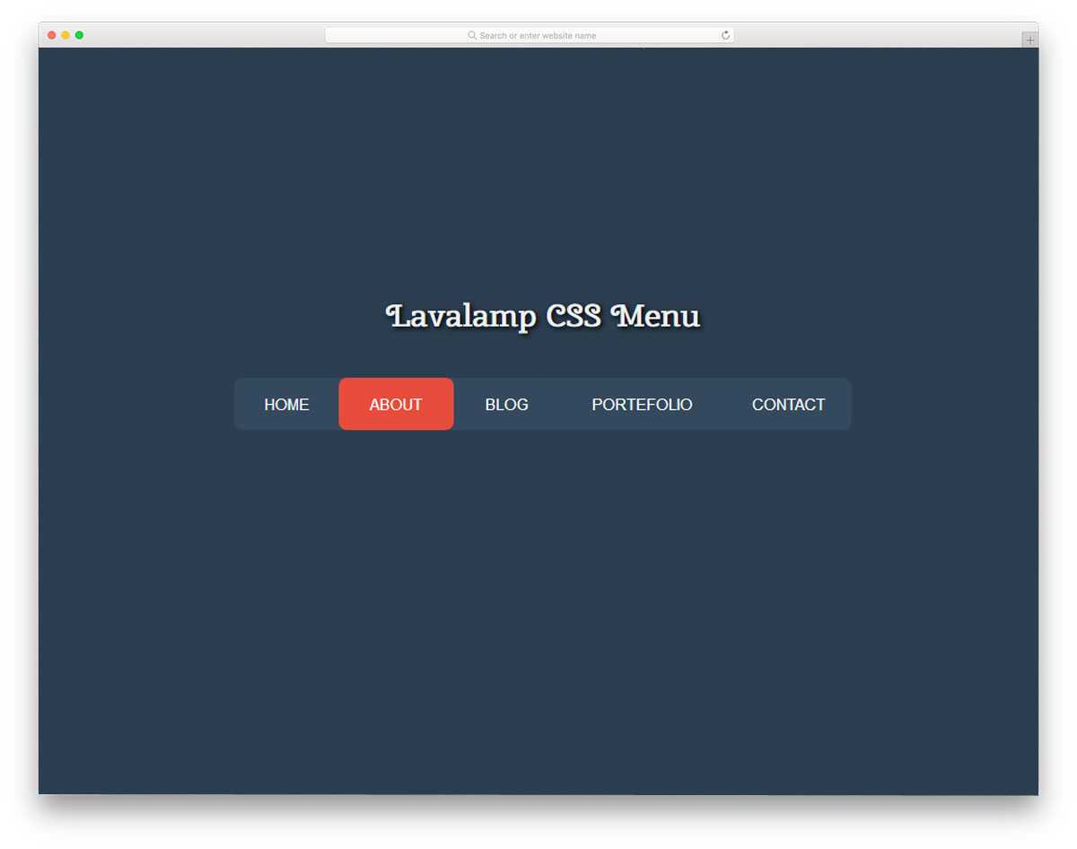 29 Trendy Css Menu Designs Which Developers Can Use As A Muse For Css Menu Templates Free Download