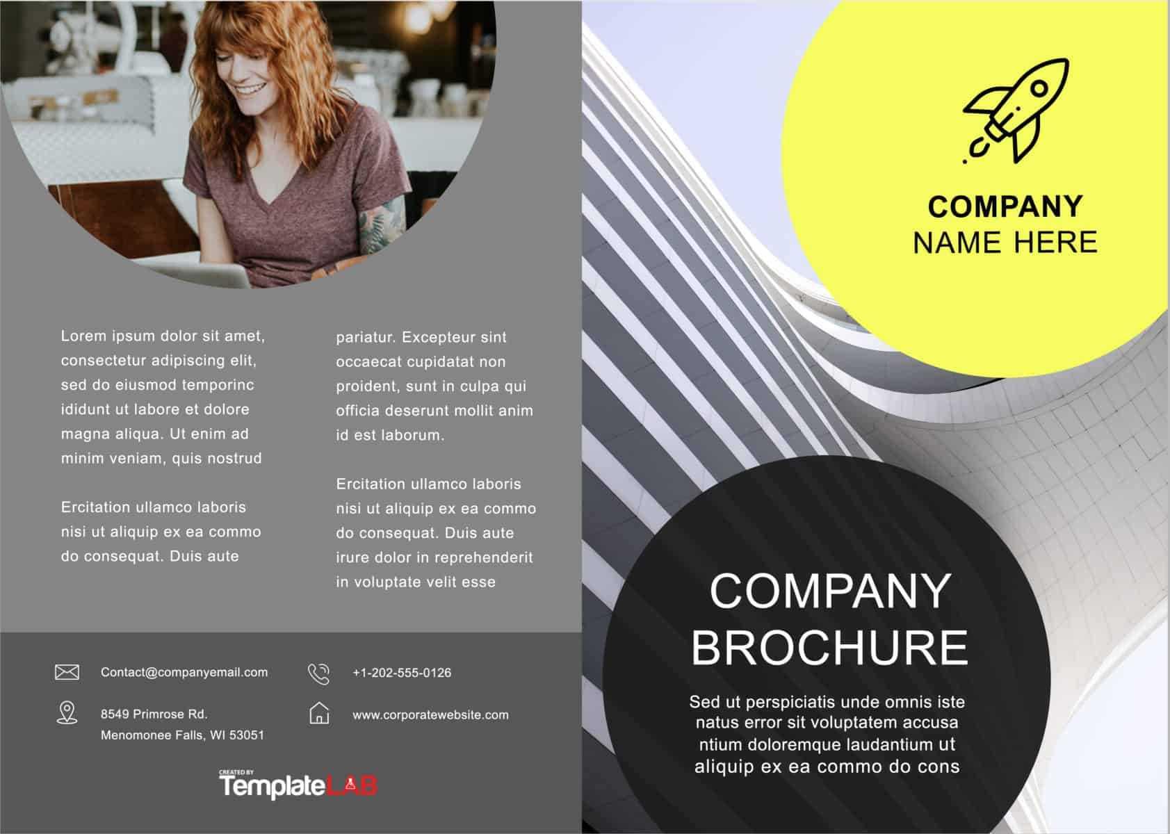 33 Free Brochure Templates (Word + Pdf) ᐅ Template Lab Inside Creative Brochure Templates Free Download