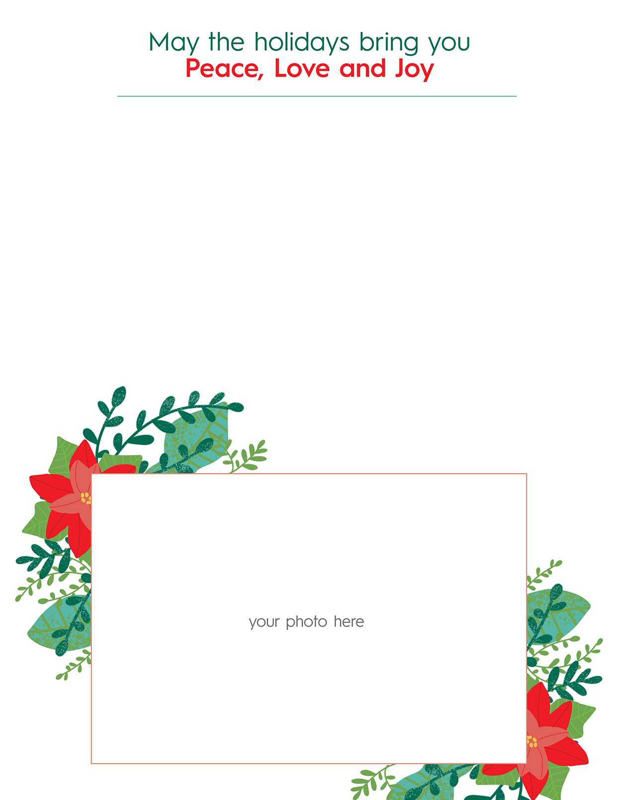 33 Free Templates To Help You Send Holiday Cheer Pertaining To Christmas Letter Templates Free Printable