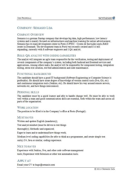 43 Best Job Proposal Templates (Free Download) ᐅ Template Lab Regarding Employment Proposal Template