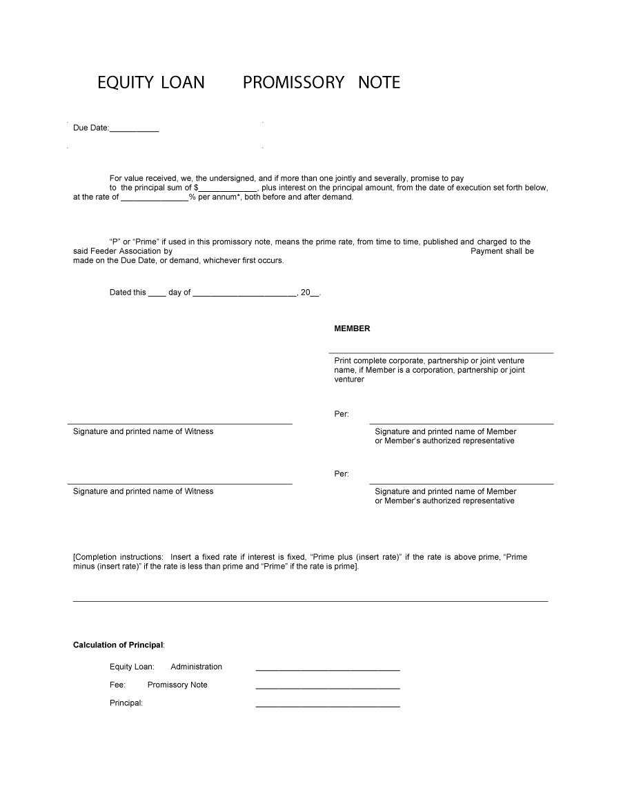 45 Free Promissory Note Templates & Forms [Word & Pdf] ᐅ With Free Promissory Note Template For Personal Loan