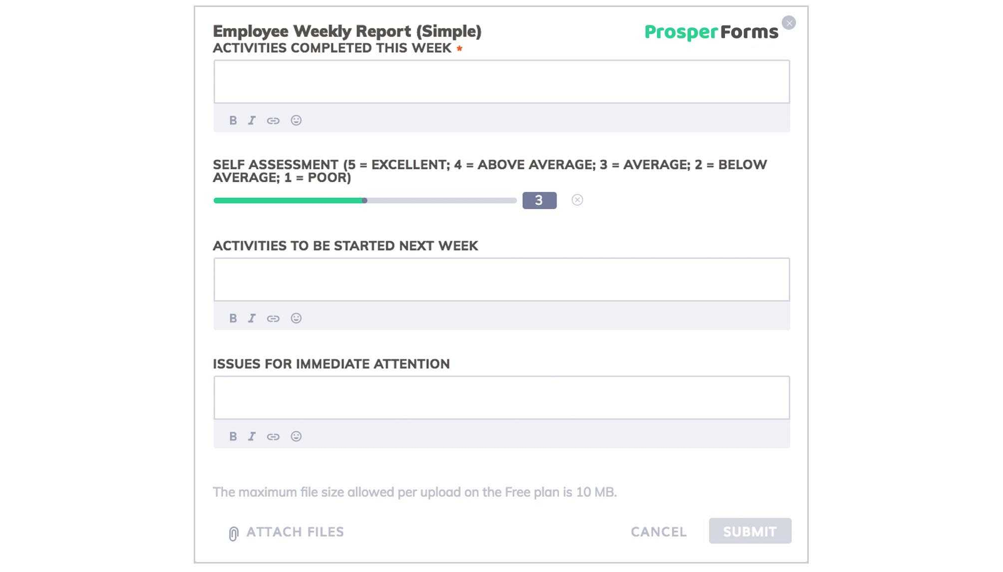 6 Awesome Weekly Status Report Templates | Free Download With Development Status Report Template