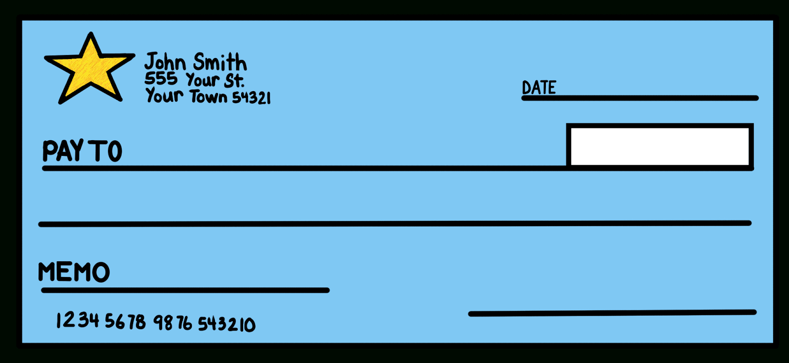 7+ Blank Check Templates – Word Excel Samples With Regard To Customizable Blank Check Template