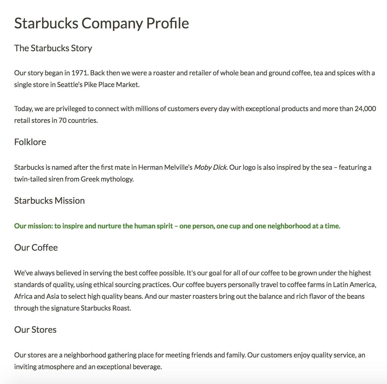 7 Creative Company Profile Examples To Inspire Your Own Throughout Company Profile Template For Small Business