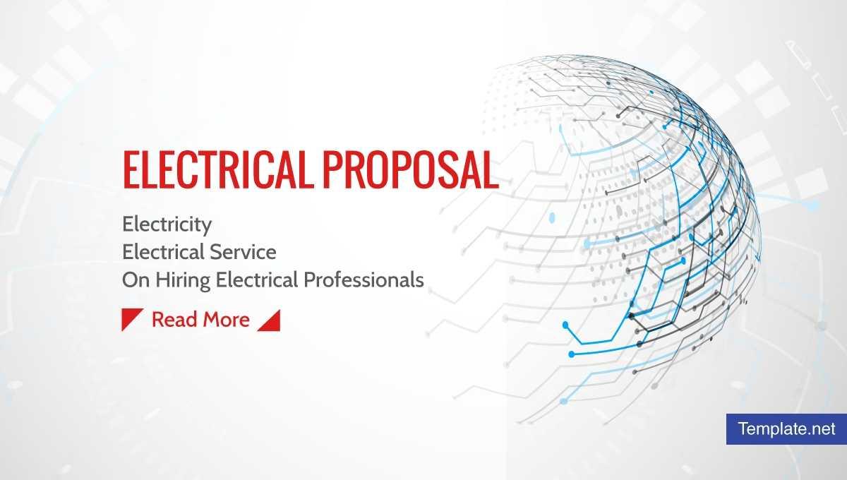9+ Electrical Proposal Templates – Pdf, Word, Apple Pages Regarding Electrical Proposal Template