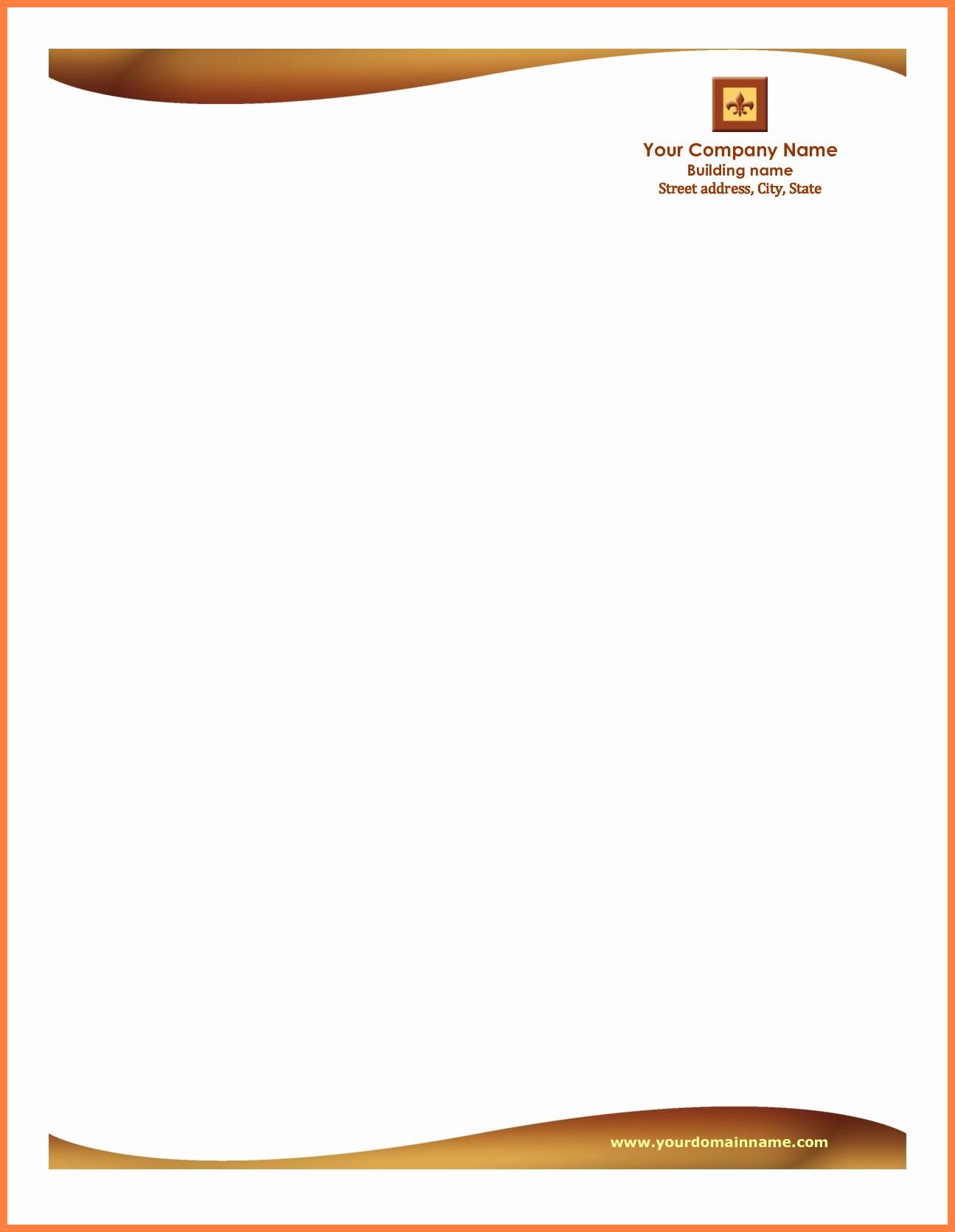 9+ Free Letterheads Sample | Andrew Gunsberg Throughout Free Church Letterhead Templates
