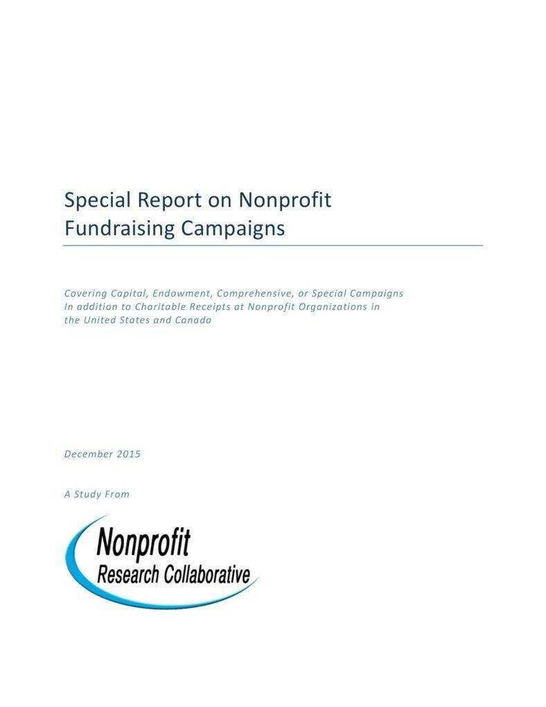 9+ Fundraising Report Templates - Pdf, Word | Free & Premium Intended For Fundraising Report Template