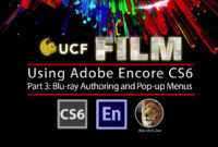 Adobe Encore Cs6 – Part 3: Blu-Ray Authoring & Pop-Up Menus inside Encore Cs6 Menu Templates Free