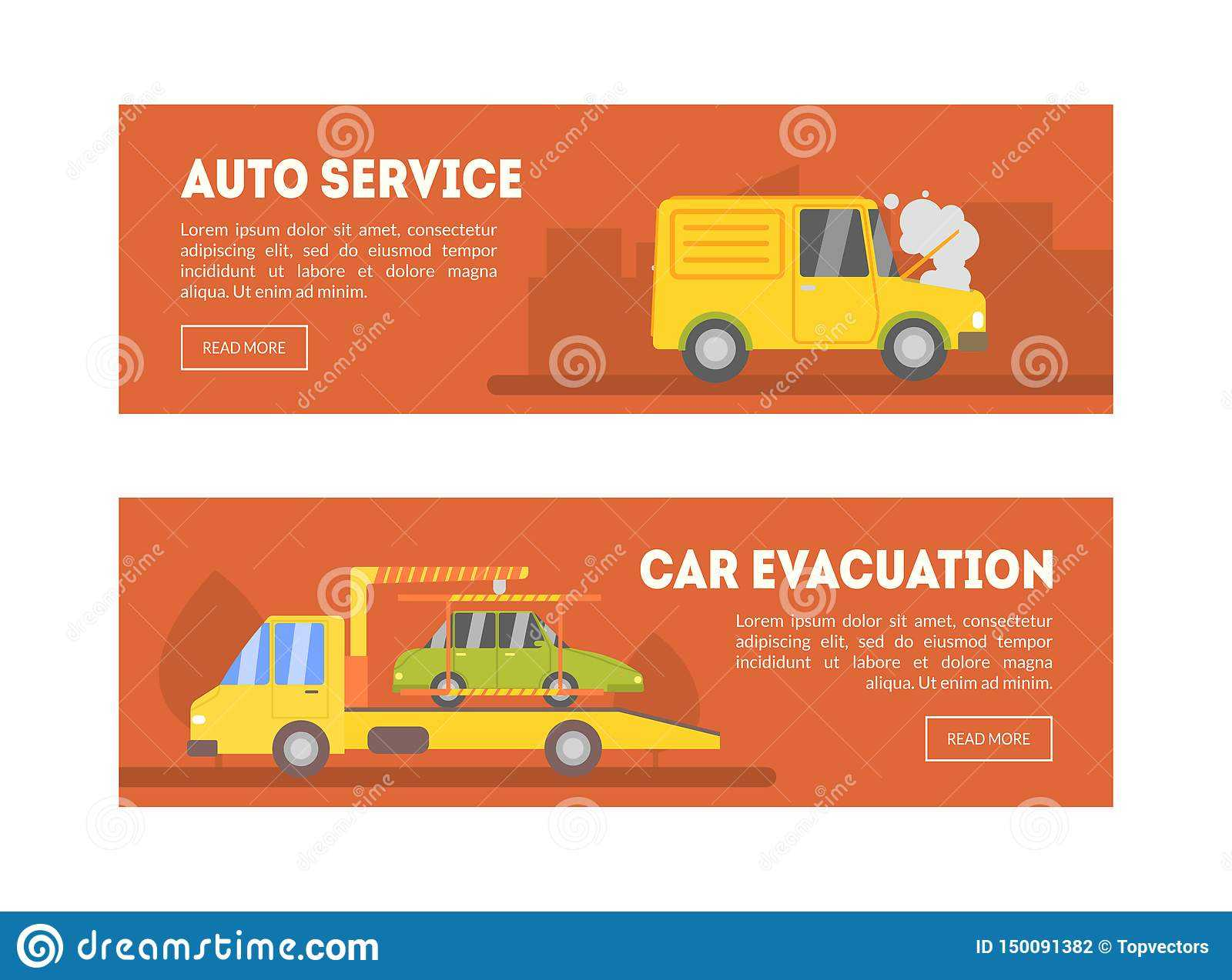 Auto Service, Car Evacuation Landing Page Template, Online Inside Evacuation Label Template