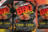 Backyard Bbq Party Flyer Psd | Psdfreebies pertaining to Free Bbq Flyer Template