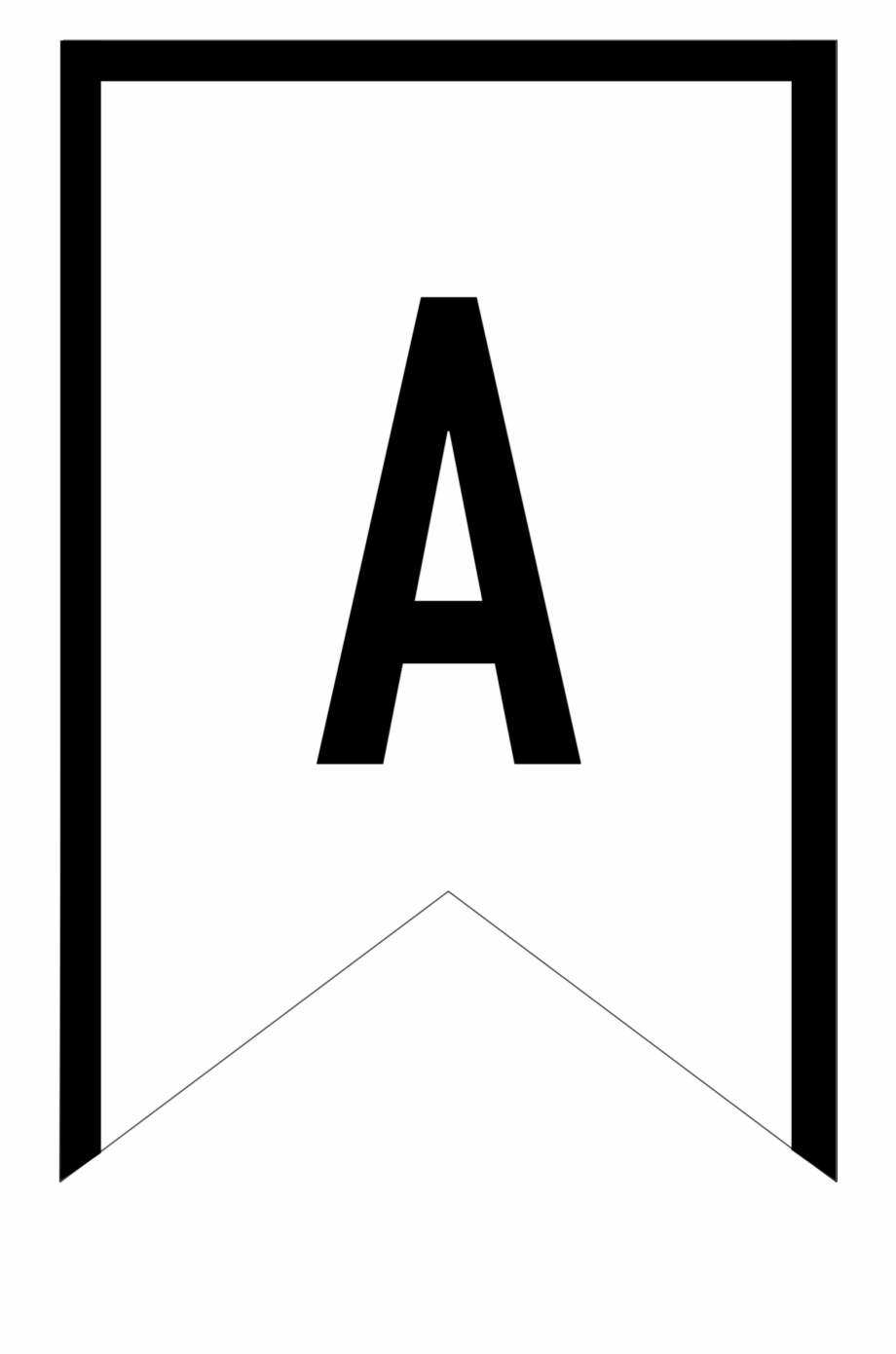 Banner Templates Free Printable Abc Letters - Printable Intended For Free Letter Templates For Banners