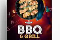 Bbq & Grill – Free Psd Flyer Template – Free Psd Flyer inside Free Bbq Flyer Template