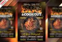 Bbq Party Flyer Template Psd | Psdfreebies intended for Free Bbq Flyer Template