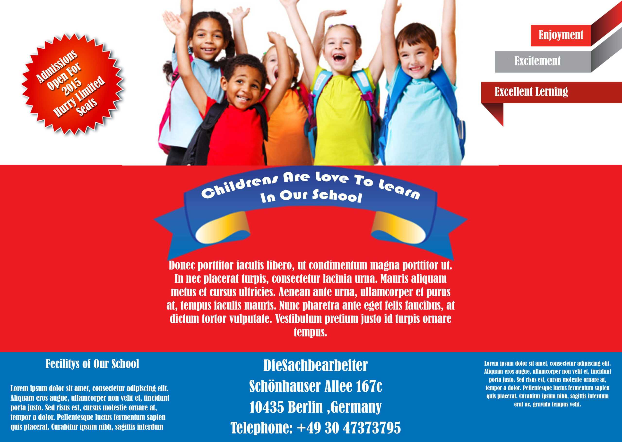 Best Free School Flyer Templates To Light Up Your Academic Regarding Free Education Flyer Templates