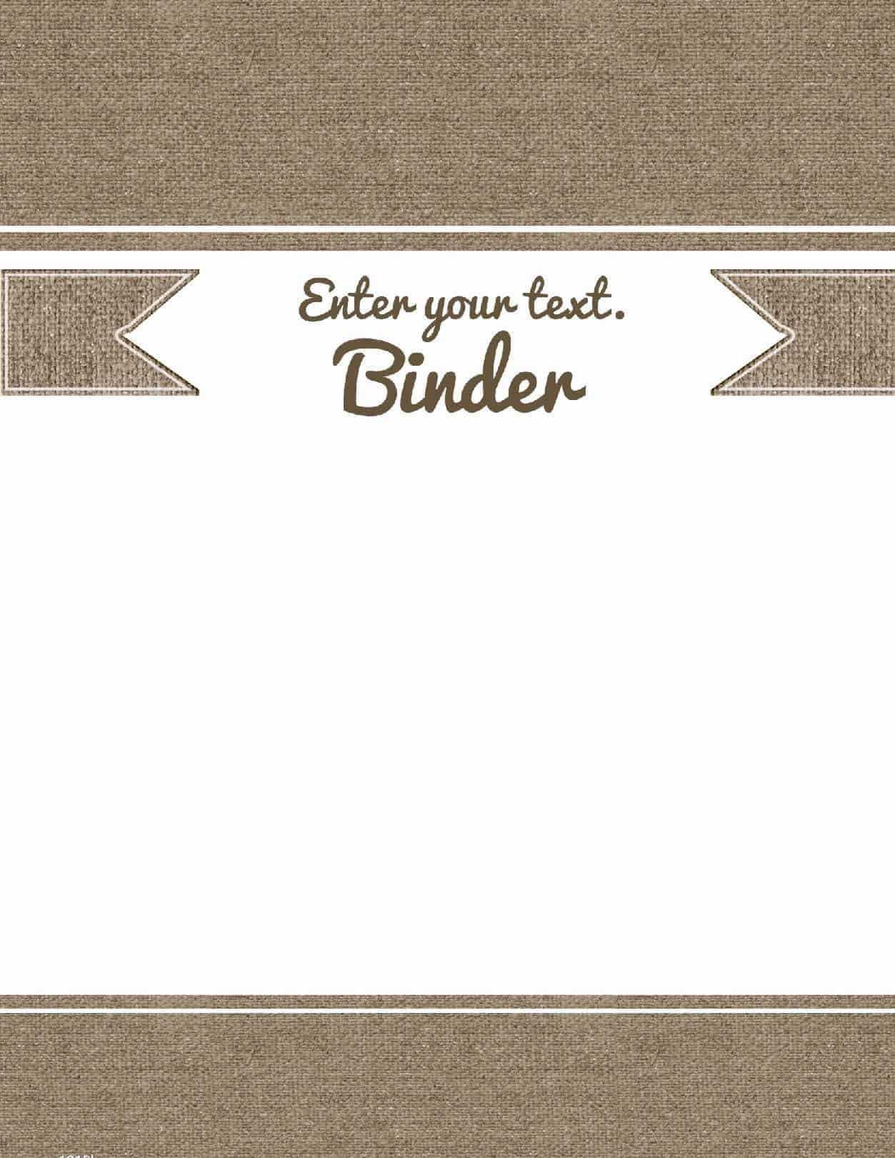 Binder Cover Template 27 Free Printable Word Pdf Jpg Psd With Free Printable Binder Cover Templates