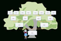 Blank Family Tree For Kids   Templates At for Fill In The Blank Family Tree Template