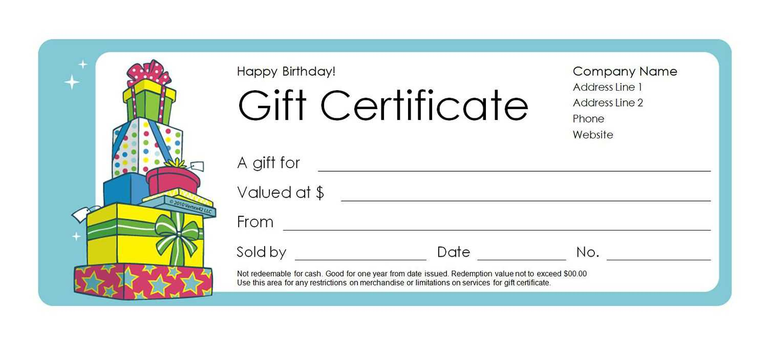 Blank Gift Certificates - Colona.rsd7 With Fillable Gift Certificate Template Free