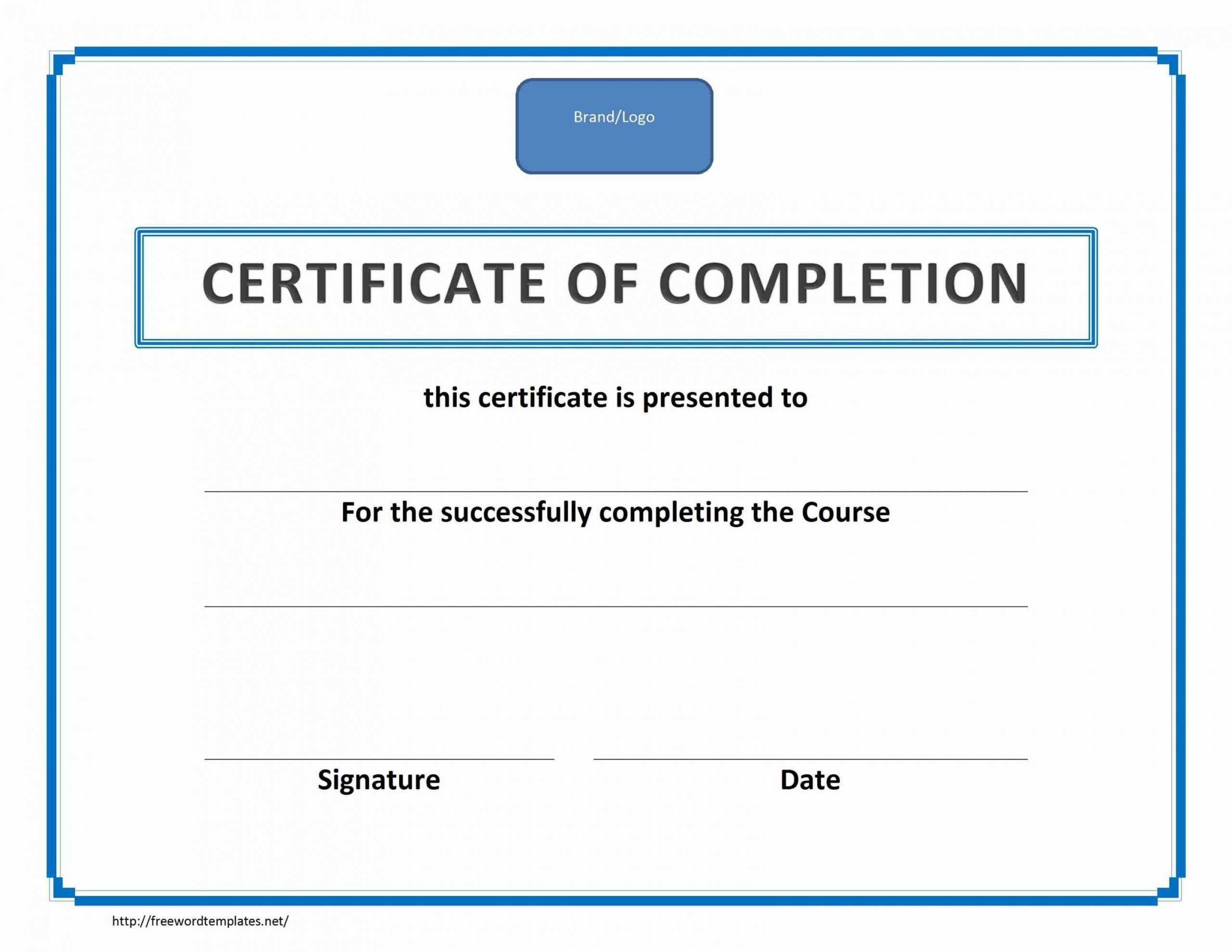 Blank Training Certificates Koranstickenco Fall Protection Inside Fall Protection Certification Template