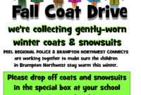 Blanket Drive Clipart regarding Clothing Drive Flyer Template