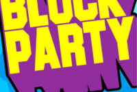 Block Party Template Flyers Free ] – Block Party Flyer inside Free Block Party Flyer Template