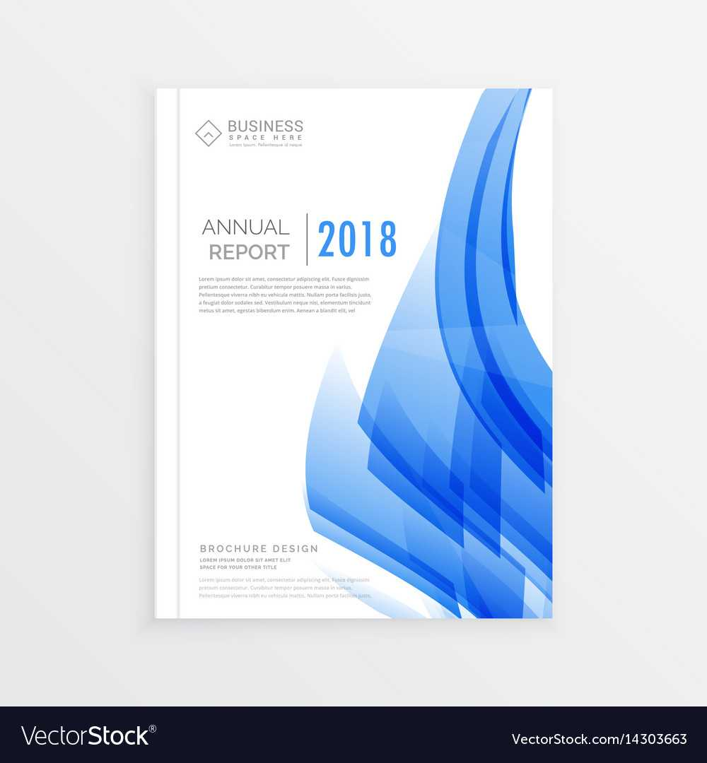Business Annual Report Cover Page Template In A4 Within Cover Page For Annual Report Template
