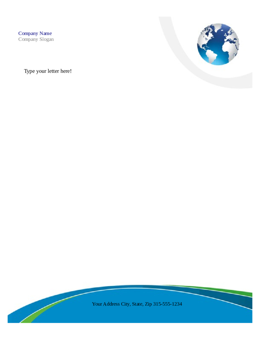 Business Letterhead Templates - Edit, Fill, Sign Online For Free Online Business Letterhead Templates