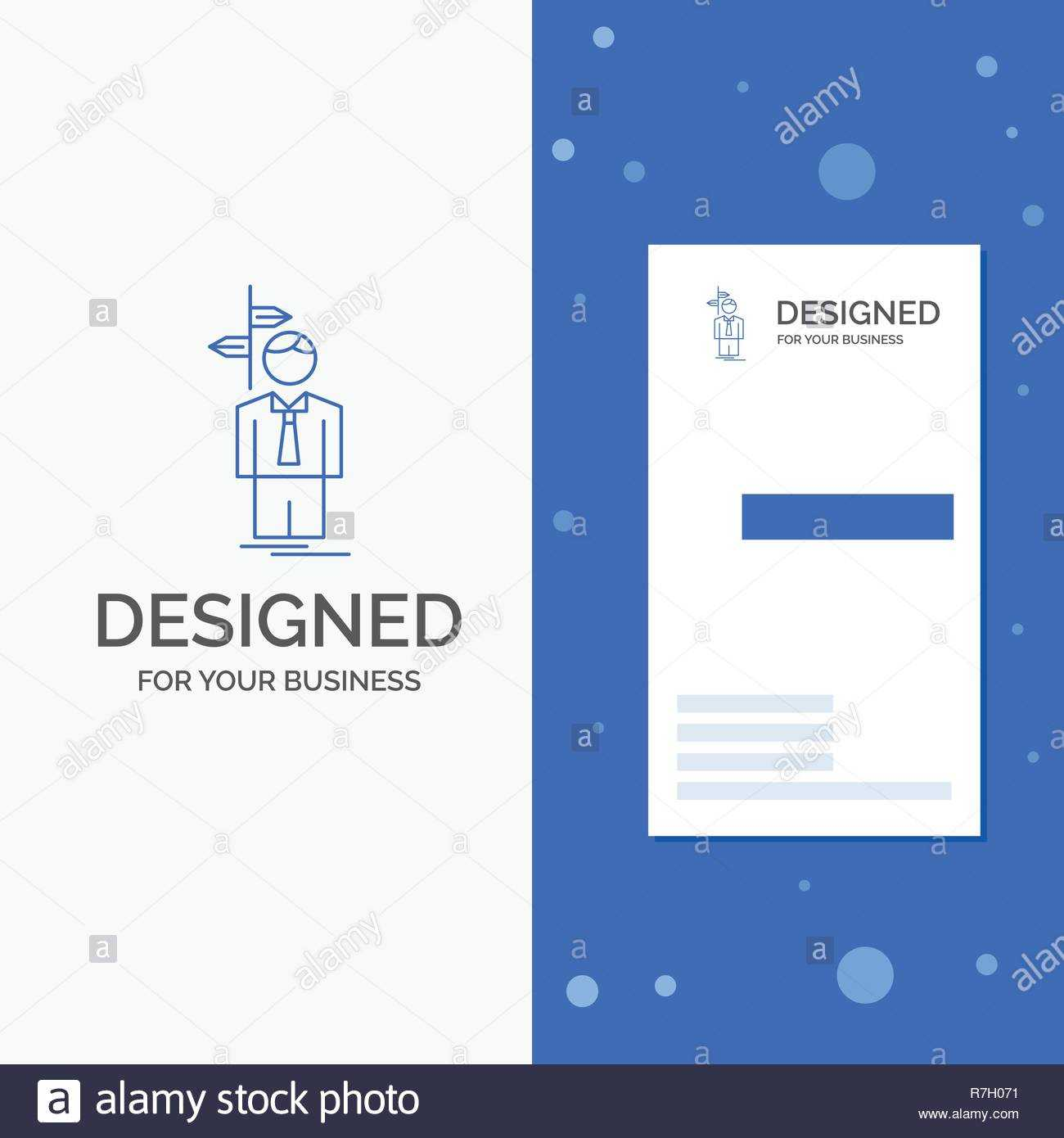 Business Logo For Arrow, Choice, Choose, Decision, Direction With Regard To Decision Card Template