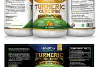 Cambogia And Label Packaging Templates From Graphicriver in Dietary Supplement Label Template