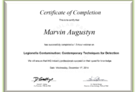 Certificate Examples – Simplecert regarding Continuing Education Certificate Template
