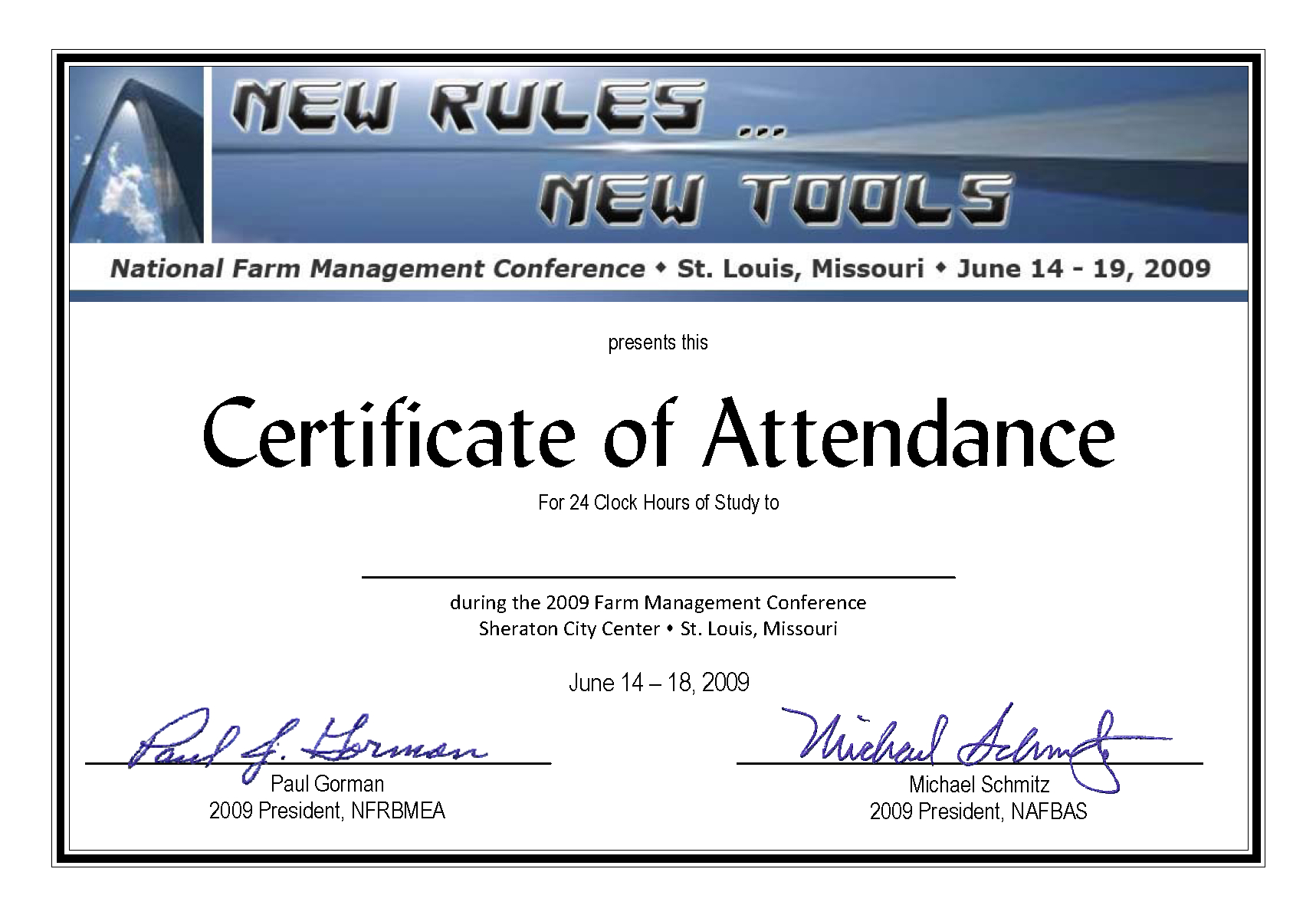 Certificate Of Attendance Conference Template ] - Of In Conference Certificate Of Attendance Template