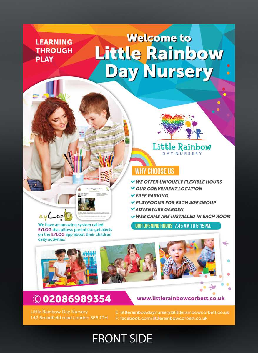 Childcare Flyer – Colona.rsd7 With Regard To Daycare Flyers Templates Free