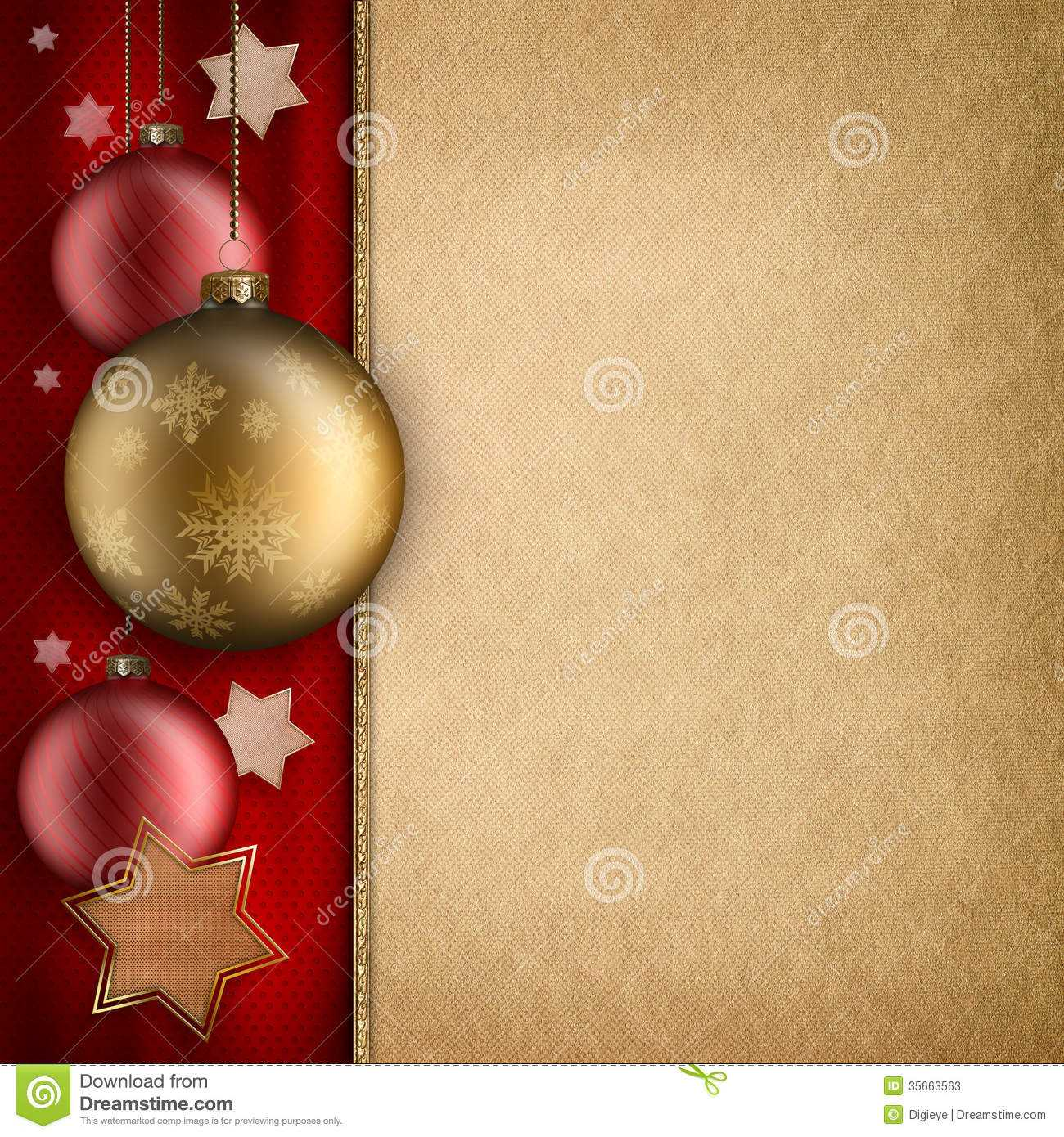 Christmas Card Template – Baulbles And Stars Stock For Christmas Photo Cards Templates Free Downloads