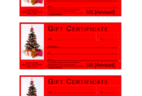 Christmas Gift Certificate Template | Templates At pertaining to Free Christmas Gift Certificate Templates