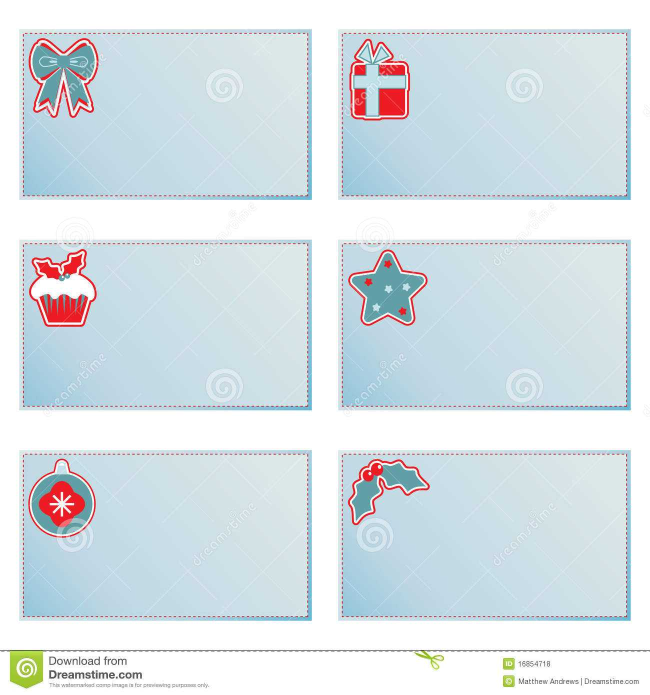 Christmas Note Cards Stock Vector. Illustration Of Throughout Christmas Note Card Templates