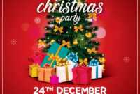Christmas Party Flyer Free Psd Template | Psddaddy within Free Christmas Flyer Templates Word