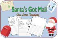 Christmas Resources For Teachers with Dear Santa Template Kindergarten Letter