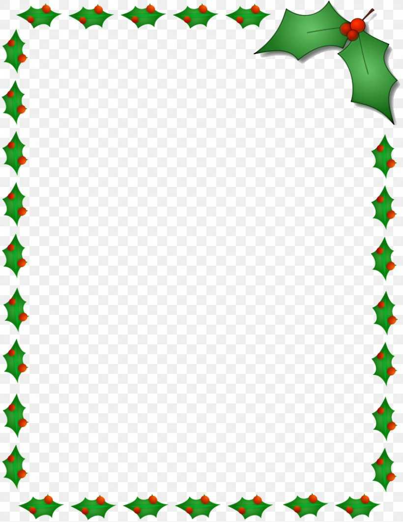 Christmas Santa Claus Microsoft Word Template Clip Art, Png For Christmas Border Word Template
