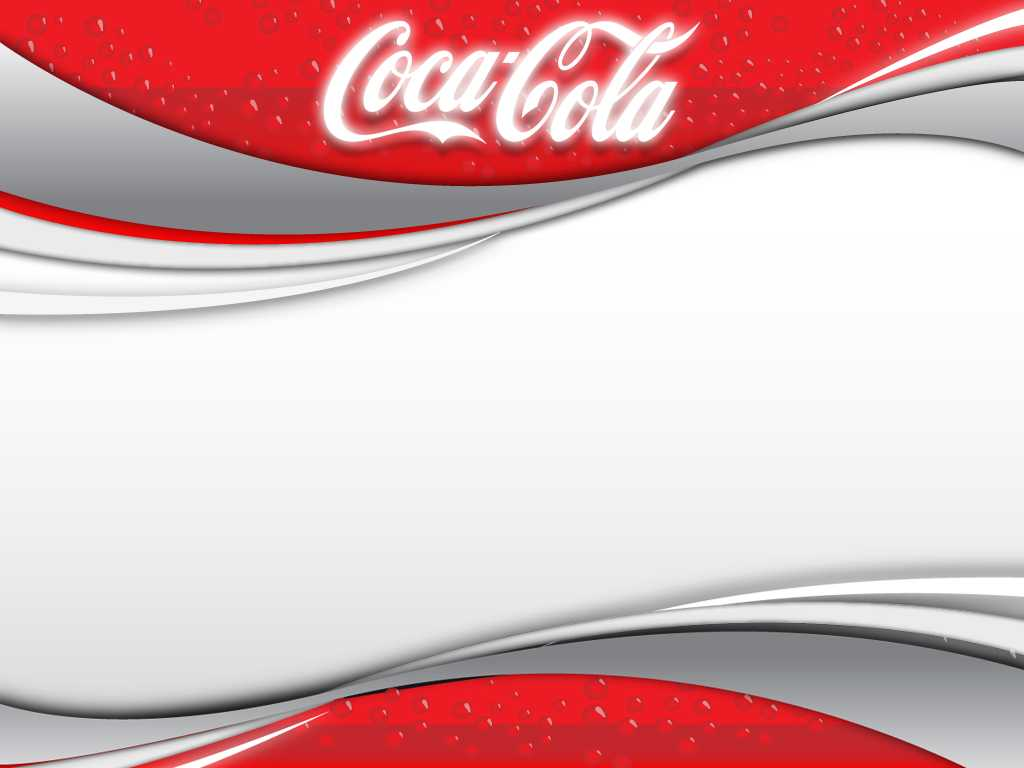 Coca Cola 2 Backgrounds For Powerpoint - Miscellaneous Ppt Throughout Coca Cola Powerpoint Template